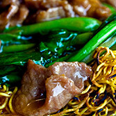 Beef Chow Mein - Spring Garden Chinese Seafood